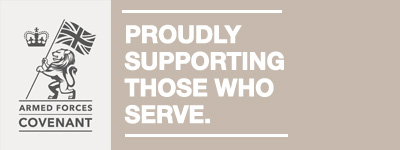 Armed Forces Covenant email Banner